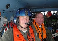 Coast Guard and Auxiliary helicopter crew